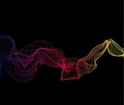 abstrakte Wellen Vektorgrafik