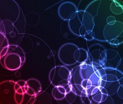 Fondo de vector de ensueño color abstracto