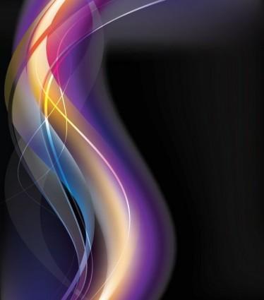 бесплатно абстрактный светящийся фон векторные иллюстрации