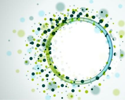 Vektor abstrakte Kreise Hintergrund