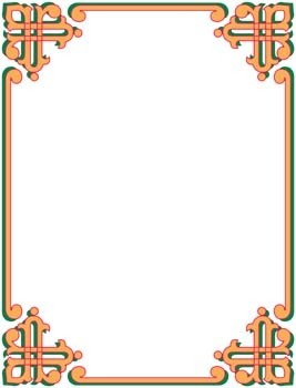 frame vector pattern