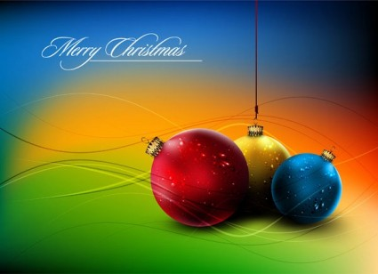 christmas ball hanging crystal style vector