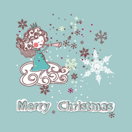 christmas decoration stickers vector