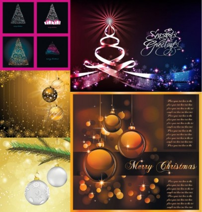 christmas exquisite vector