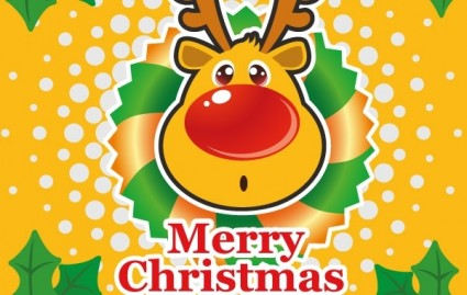 christmas vector illustration illustrator ai eps pdf