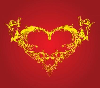 cupid love heart