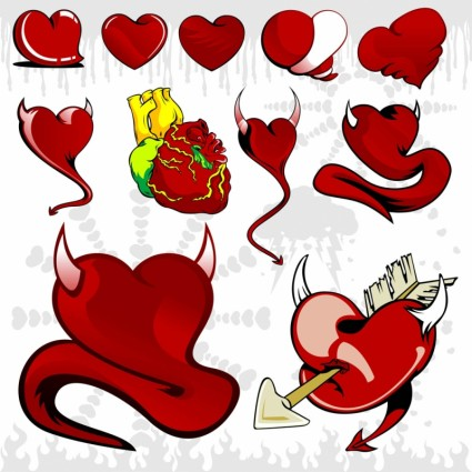 fun heart graphics