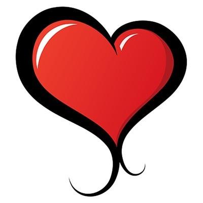 illustrated vector heart