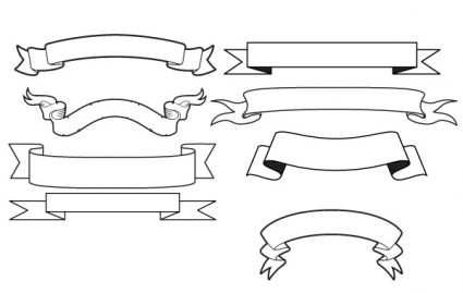 bannières de vecteur générique