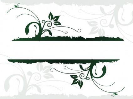design organique jus qui coule de bannière
