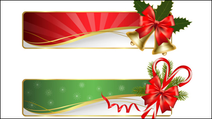 Christmas exquisite elements 02 - vector material