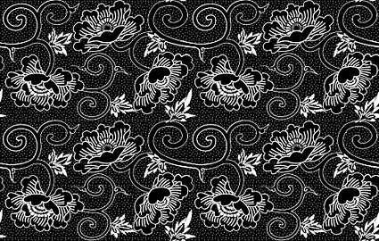 Vector traditional tiled background material-3