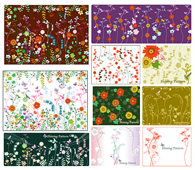 Vector background patterns-19