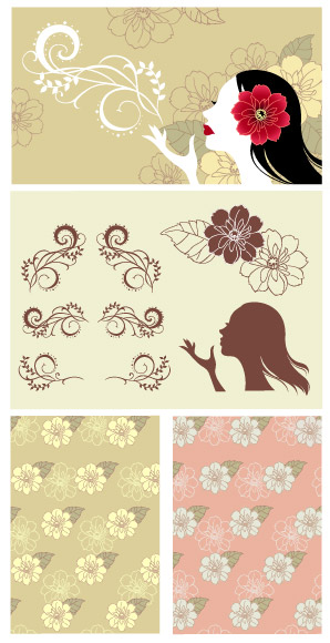 Vector background patterns-39