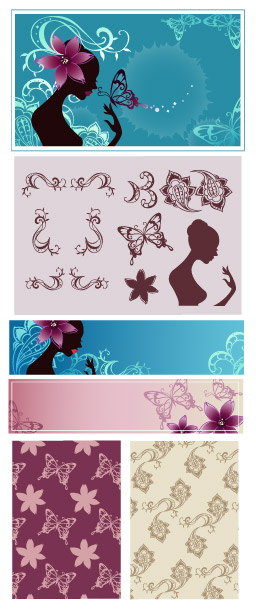 Vector background patterns-40
