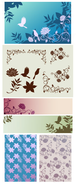 Vector background patterns-42