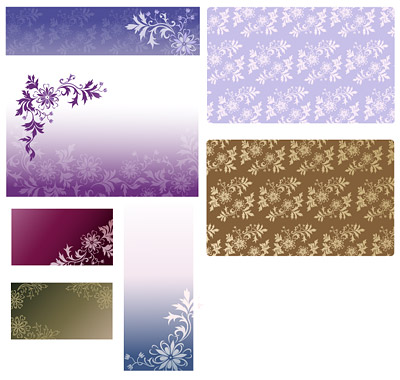 Vector background patterns-45