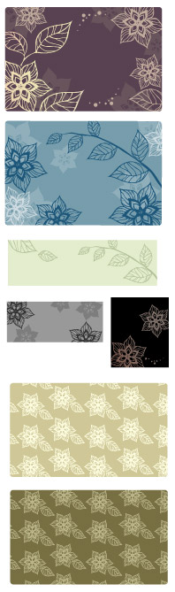 Vector background patterns-47