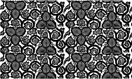 Vector traditional tiled background material-17