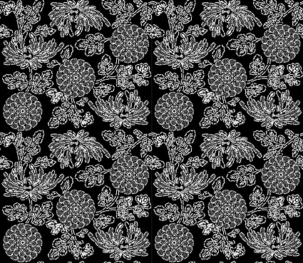 Vector traditional tiled background material-24