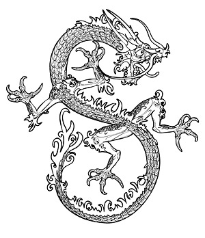 Chinese Dragon Vector-3