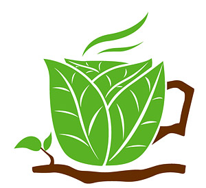 Leaves of the coffee mug