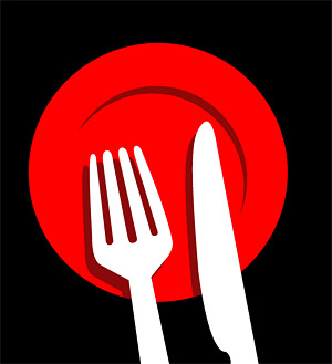 Tableware vector illustrations