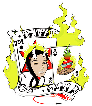 Poker with the flame element