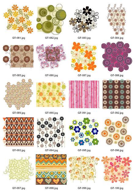 GreenTea campaign material vector material 081-100