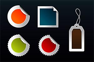 web2.0 style badges
