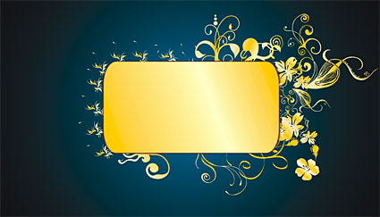 Gold gorgeous patterns Vector-8