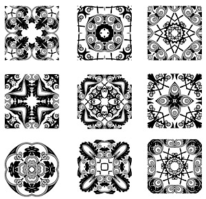 Classical pattern vector logo-2
