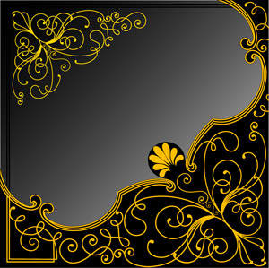 Classical style pattern vector