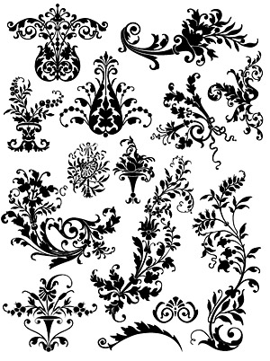 Number of practical pattern vector material