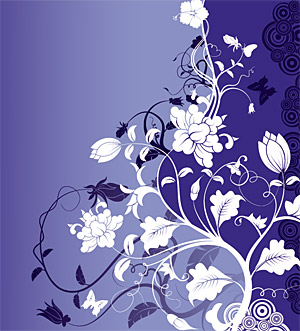 Fashion Flower Vector