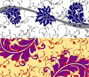 Fashion pattern vector