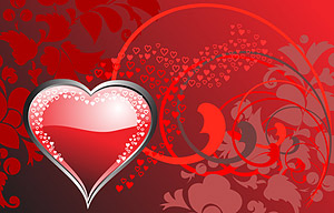 Heart-shaped vector material-2