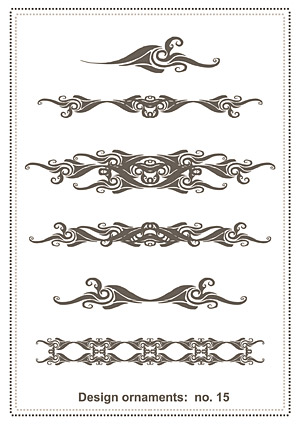 Classical pattern vector material