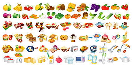 food elements of Vector