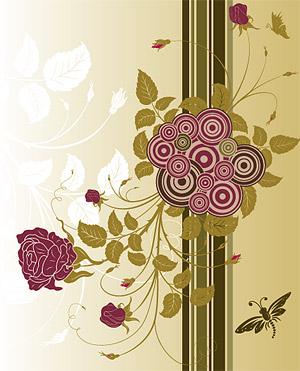 Rose vector material