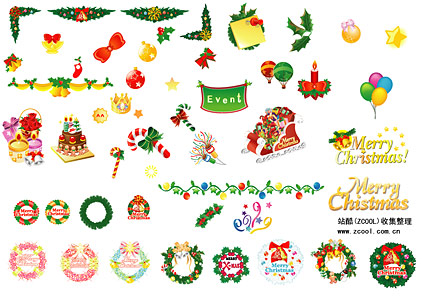 Christmas decoration items