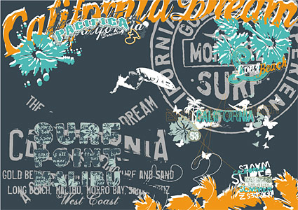 Movement and the street culture vector material-18