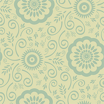 Classical patterns background vector