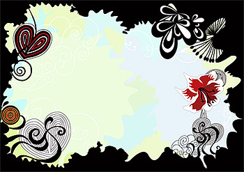 The trend of color vector lace material