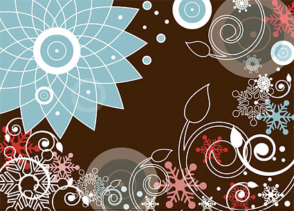 Fashion color pattern vector