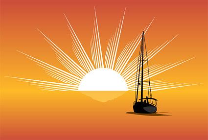 Sea, sun, sailing