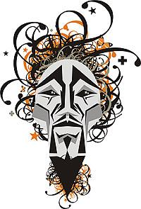 Face logo Vector