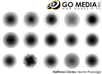 Go Media produced vector material - print outlets Netted