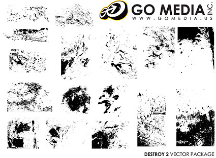 Go Media produced vector material - Texture