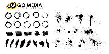 Go Media Vector material products - the ink series